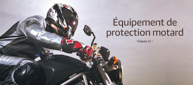 Equipement de protection motard