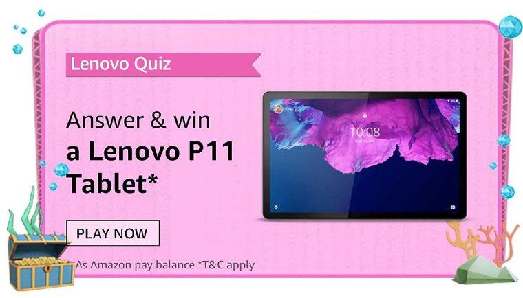 Lenovo Tablets Quiz