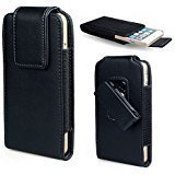 iPhone 8 Belt Clip Case, iPhone 7 Holster, Covboa Premium Leather Pouch Carrying Case with Belt Clip Case Cover for Apple iPhone 8, iPhone 7 (Fits with a Thin Case)