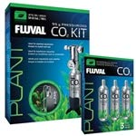 VASCA Hagen Fluval Pressurized CO2 Kit w/ 3 Replacement Cartridge Bundle (95g)