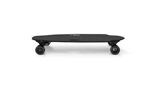 """LiftBoard Single Motor Belt Driven Electric Skateboard, Black, 39"""""""