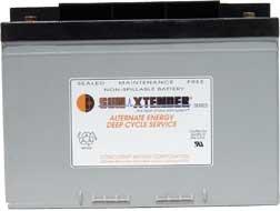Concorde Sun Xtender PVX 1080T AGM Solar Battery