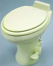 Dometic 320 Series Standard Height Toilet, White