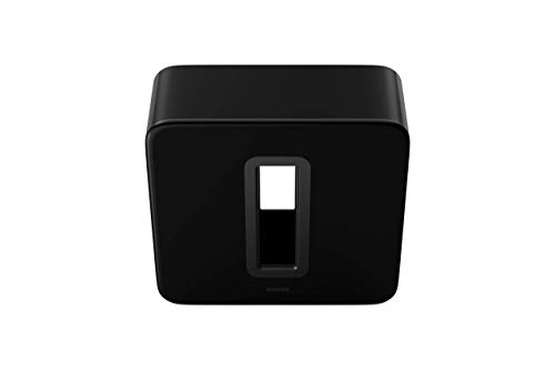 Sonos Sub, the wireless subwoofer for deep bass. (Black)