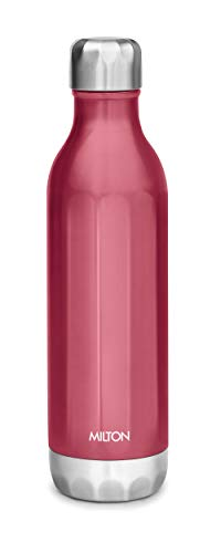 21H3cdqZtEL - Milton Bliss 900 Thermosteel Vaccum Insulated 24 Hours Hot & Cold Water Bottle, 820 ml, Red