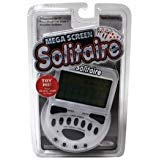 John Hansen Mega Screen Solitaire Handheld Electronic Video Game