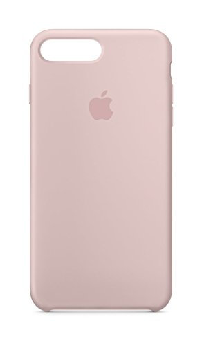 Apple Silicone Case (for iPhone 8 Plus / iPhone 7 Plus) - Pink Sand