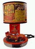Disney CARS - Talking Lightning McQueen Table Lamp & Alarm Clock Radio