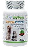 Pet Wellbeing - Ultimate Probiotic with Prebiotics for Cats and Dogs - 120 Caps
