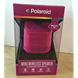 Polaroid Mini Wireless Portable Speaker Pink