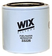 WIX Filters - 33226 Heavy Duty Spin On Fuel Water Separator, Pack of 1