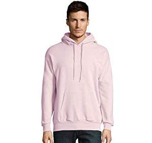 Hanes Men's Pullover Eco-Smart Fleece Hooded Sweatshirt 35