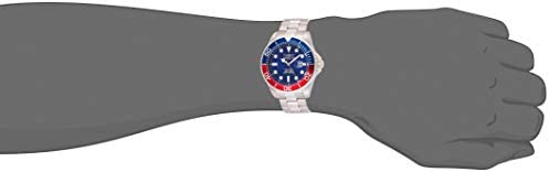 Invicta Men's Pro Diver Quartz Diving Watch with Stainless-Steel Strap, Silver, 22 (Model: 22823) 4
