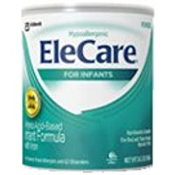 Elecare Elecare Hypoallergenic Powder For Infants With Dha And Ara, 14.1 oz (Pack of 4)