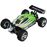 Blackpoolfa Upgrade WLtoys A959B High Speed 43.5mph(70km/h) Buggy Off Road RC Car | Almost Ready 1:18 4WD Racing Cars w/ 2.4G Radio Remote Control & Charger (540 Brush Motor)