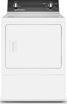 Speed Queen DR3000WE 27' Electric Dryer with 7.0 cu. ft. Capacity 3 Dry Cycles, in White