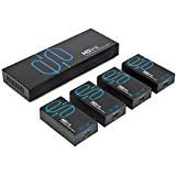 HD-Link HL14 by Sewell, 1x4 HDMI Splitter Over cat5e/6, 200 ft