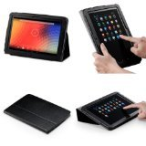 Acase Premium PU Leather Case with Multi-View Stand for 10-Inch Google Nexus, Black (ACS-1005PUBK-GN10-AS)