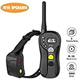 Shock Collar for Dogs - IPX7 Waterproof Dog Shock Collar with IPX5 Water Resistant Remote 3000 Feet Range No Harm Dog Training Collar Fast Training Effect for Small Medium Large Dogs