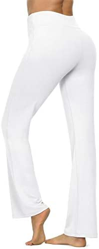 VIISHOW Women's Boot-Cut Yoga Pants Tummy Control Workout Non See-Through Bootleg Yoga Pants 3