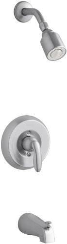 KOHLER K-T15601-4-G Coralais Bath and Shower Mixing Valve Faucet Trim, Brushed Chrome