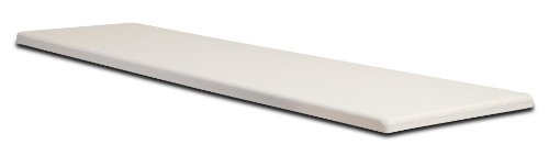 S.R. Smith 66-209-268S2-1 Fibre-Dive Replacement Diving Board, 8-Feet, Radiant White