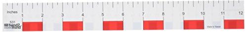 ETA hand2mind Beginner Dual-Scale 12-inch Ruler (Pack of 12)