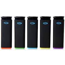 5 Full Size MK Jet Torch Lighters Windproof Refillable Butane Cigarette Lighter