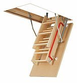 FAKRO LWP 66803 Insulated Attic Ladder for 22 x 54-Inch Rough Openings, 54 Inches
