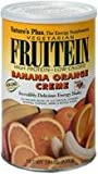 NaturesPlus Fruitein Banana Orange Crème High Protein Energy Shake - 2.8 lbs, Vegetarian Powder - Vitamins, Minerals, Enzymes, Herbs & Whole Foods - Non-GMO, Gluten-Free - 37 Servings