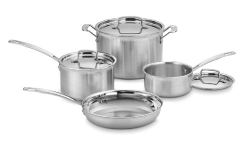 Cuisinart-MCP-7N-MultiClad-Pro-Stainless-Steel-Cookware-7-Piece-Cookware-Set