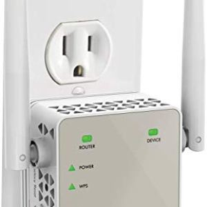 NETGEAR Wi-Fi Range Extender EX6120 – Coverage Up to 1200 Sq Ft and 20 Devices with AC1200 Dual Band Wireless Signal…