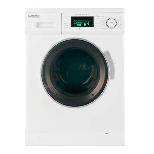 Equator Compact Electric 1.6 cu.ft. Combination Washer and Vented/Ventless Dryer, 2013 Model