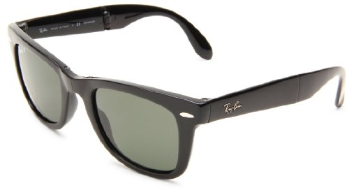 31%2BQmu5j5XL Wayfarer-style sunglasses featuring hinges at bridge and mid-arm to allow for complete folding Case included Lenses are prescription ready (Rx-able)
