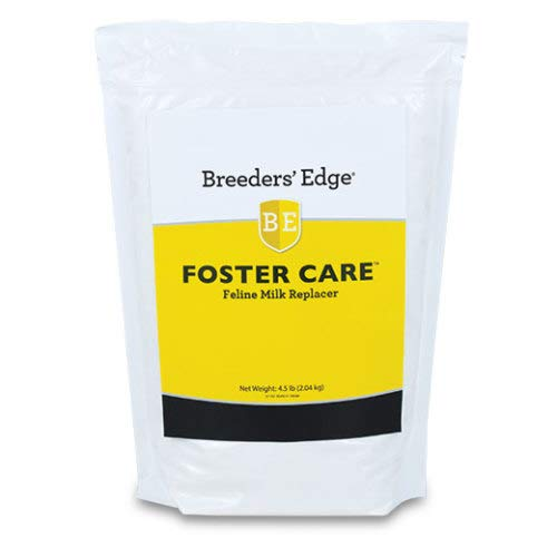 Revival Animal Health Breeders' Edge Foster Care Feline Powdered Milk Replacer 4.5 Lb for Kittens & Cats