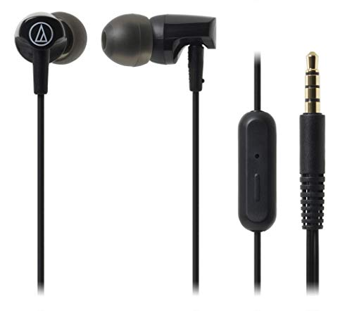 Audio-Technica Audífonos Con micrófono In-ear Negro ATH-CLR100ISBK