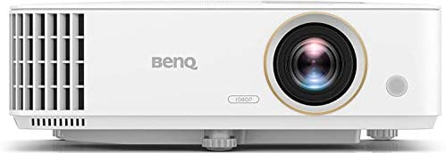 BenQ TH585 1080p Home Entertainment Projector | 3500 Lumens | High Contrast Ratio | Loud 10W Speaker | Low Input Lag for Gaming | Stream Netflix & Prime Video | 3 Year Industry Leading Warranty
