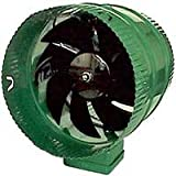 Hydrofarm Active Air ACFB10 Booster, 10-Inch in-line Fan, Stainless Steel