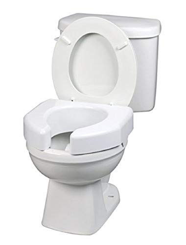 Maddak Basic Open Front Elevated Toilet Seat (725790000)