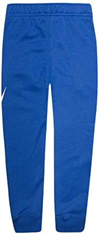 Nike Boys' Toddler Fleece Jogger Pants, Game Royal/White, 3T 2