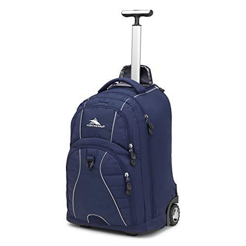High Sierra Freewheel Wheeled Laptop Backpack, True Navy