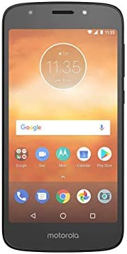 Motorola Moto E5 Play (16GB) 5.2″ HD Display, 4G LTE (GSM) Factory Unlocked (GSM) Smartphone, Black (Renewed)