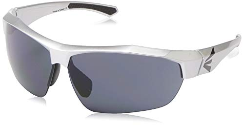 EASTON FLARE Sunglasses | 2020 | Silver | UV Protective Lenses| Shatter-Resistant Lenses Tough Enough For Baseball / Softball On Field Plays | Adjustable Rubber Nose Piece For Comfort + Customized
