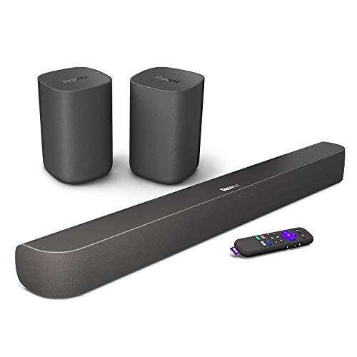 Roku-Smart-Soundbar-4KHDHDR-Streaming-Media-Player-Exceptional-Audio-Includes-Roku-Voice-Remote-Roku-Wireless-Speakers