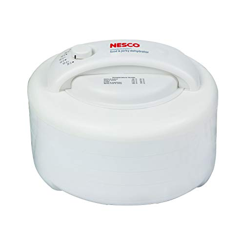 NESCO FD-60, Snackmaster Express Food Dehydrator, White, 500 watts