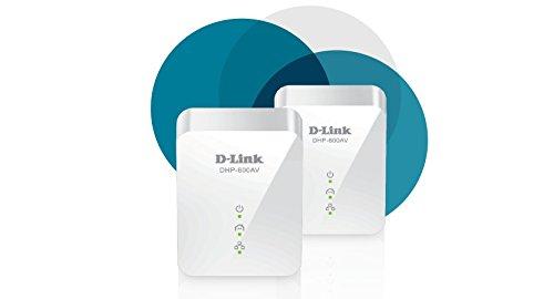 D-Link Powerline 1000 Mbps, 1 Gigabit Port (DHP-601AV)