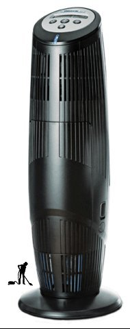 ORECK, XL Tower Professional Air-Purifier, Black