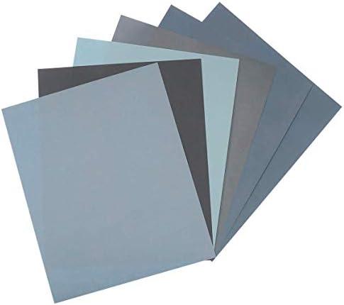 オンラインショップ 6枚 耐水ペーパー 大工道具 用品 研磨ペーパー セット 紙やすり