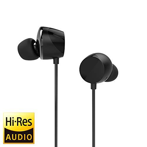 TUNAI Creative Drum Hi-Res - Auriculares in-Ear con Controladores Extra Grandes de 1/2 Pulgadas para...