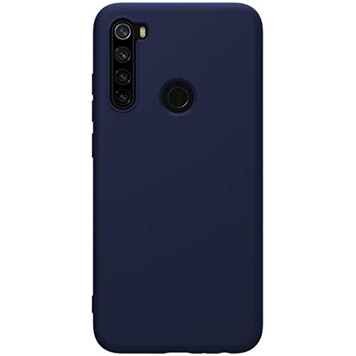 """Nillkin Case for Xiaomi Redmi Note 8 (6.3"""" Inch) Soft TPU Rubber Wrapped Protective Case Blue Color 2"""
